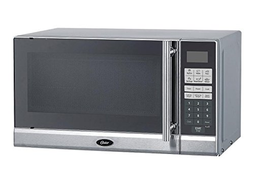 Oster Ogg3903 0.9 Cube Microwave Oven, Stainless Steel