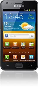 Samsung Galaxy S II Smartphone Quadribande/HSDPA Bluetooth Android i9100G Noir [Import Allemagne]