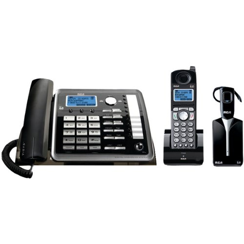 Brand New Rca 2-Line Expandable Corded/Cordless/Headset Phone System With Caller Id & Answerer