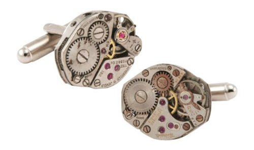 Jewelry Mountain Steampunk Cufflinks