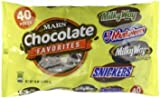 Mars Variety Mix - Chocolate Favorites - 40 Count