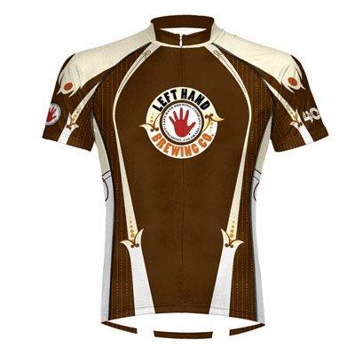 Image of Primal Wear 2012 Men's Left Hand 400 Pound Monkey Short Sleeve Cycling Jersey - LH40J20M (B0060R6SLM)