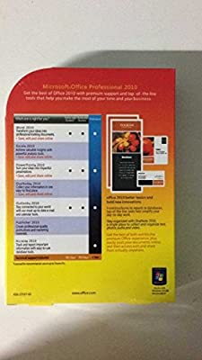Microsoft Office Professional 2010 Full Retail 3 PC