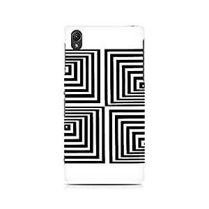 Mobicture Black Triangles Premium Printed Case For Oppo F1