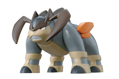 Pokemon Plastic Model Collection Terrakion (Plastic model kit) Bandai [JAPAN] - 1