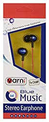 Varni Wired Earphone for All Smartphones (Red)