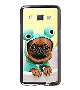 Vizagbeats French Bull Dog Back Case Cover For Samsung Galaxy A3 2016 Edition