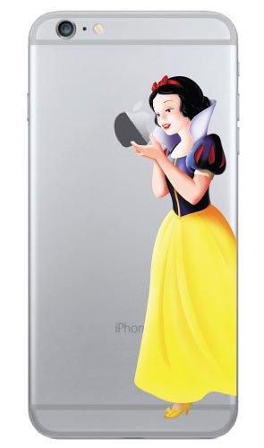 iPhone 6 Snow White Holding Apple Vinyl Decal 4.7