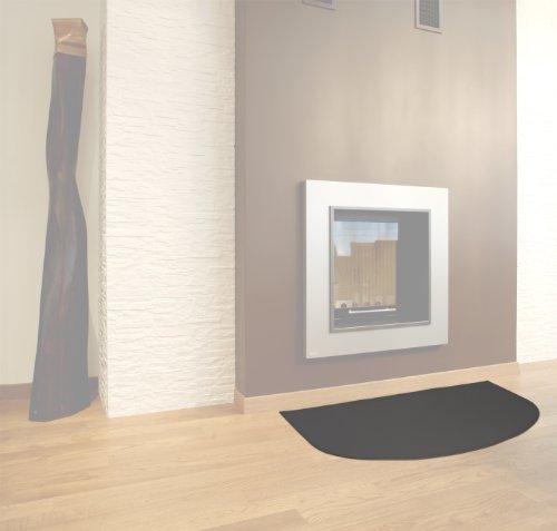 TAPETIN: tappeto in ecopelle ignifuga classe 1-IM, certificazione internazionale, colore Grigio Antracite.