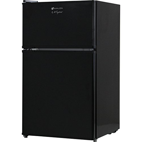 Avalon by Keyton Refrigerator & Freezer, 3.1 Cubic Feet, Black (Refreshment Fridge compare prices)