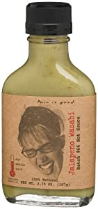Pain Is Good Jalapeno Wasabi Hot Sauce Batch 66 375-ounce Bottle Pack Of 6 by Pain Is Good