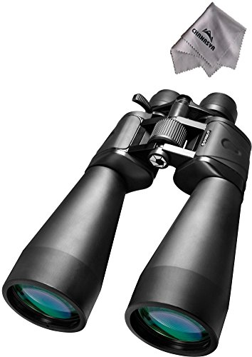 20-100X70 Zoom Gladiator Binoculars Ab10592 With Chanasya Polish Cloth Bundle