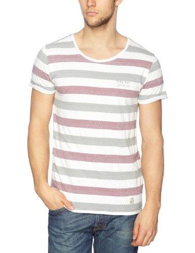 Firetrap Jimmy Patterned Men's T-Shirt Marooned