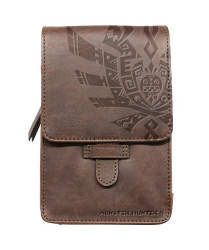 Monster Hunter 4 3DS LL Pouch (emblem)