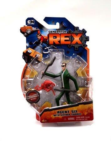 Generator Rex 4 Inch Action Figure Agent 6