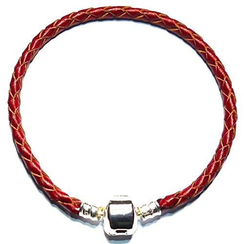 Charm Buddy 19cm Dark Red Leather Ladies Womens