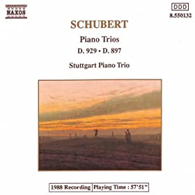 Schubert: Piano Trios In E Flat Major, D. 929 And D. 897