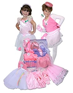 Dress Up For Girls Princess Trunk 26 Pieces(Jewlery to Shoes)