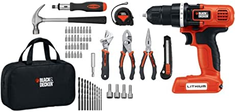 Black & Decker LDX172PK 7.2-Volt Lithium-Ion Drill and Project Kit