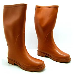 womens x1055 orange diamante rubber wellington boots bnib