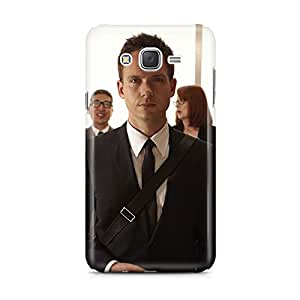 Motivatebox - Samsung Galaxy J5 Back Cover - Working Company Man Polycarbonate 3D Hard case protective back cover. Premium Quality designer Printed 3D Matte finish hard case back cover.
