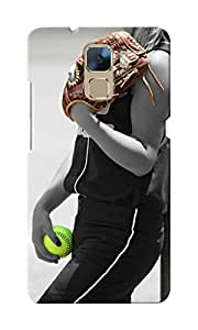 CimaCase Sports Girl Designer 3D Printed Case Cover For Huwaei Honor 7