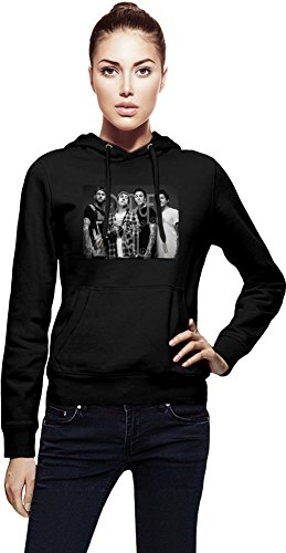 Pierce The Veil Members Cappuccio da donna Women Jacket with Hoodie Stylish Fashion Fit Custom Apparel By Genuine Fan Merchandise X-Large