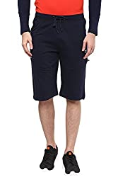 Ajile by Pantaloons Men's Cotton Three Forth 205000005637036_ Size_Large