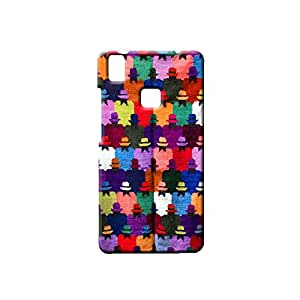 ROCKY Designer Printed Back Case / Back Cover for VIVO V3 MAX (Multicolour)