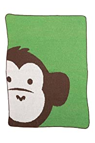 Green 3 Apparel Recycled USA-Made Monkey Throw (Green)