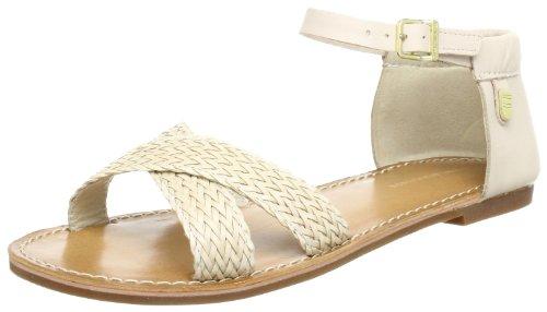 Tommy Hilfiger JULIA 13 C Sandals Women Beige Beige (CRÃME BRULEE 769) Size: 6.5 (40 EU)