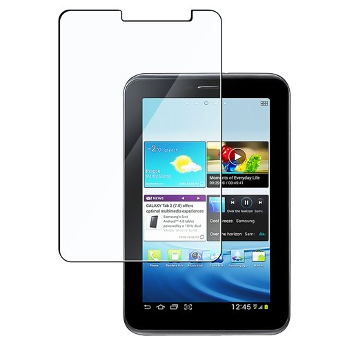 Klar Reusable chutz LCD Screen Folie für Samsung Galaxy Tab 2 7.0 P3100 P3110