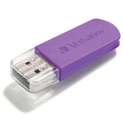 Verbatim 32 GB Store 'n' Go Mini USB 2.0 Flash Drive, Violet 49833