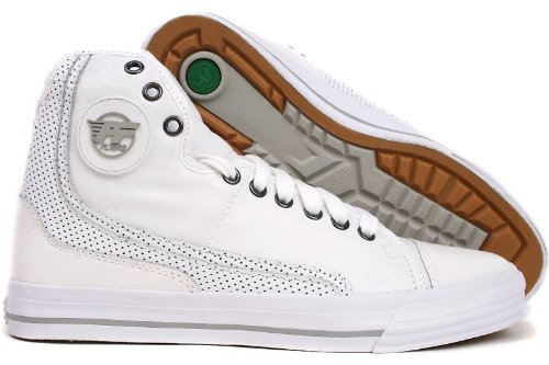PF Flyers Men's Glide Sneaker,White,6.5 M US