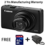 Canon S95 10MP Camera Point & Shoot Camera with 10MP, 3.8x Optical Zoom and 3 inch Screen (Black)