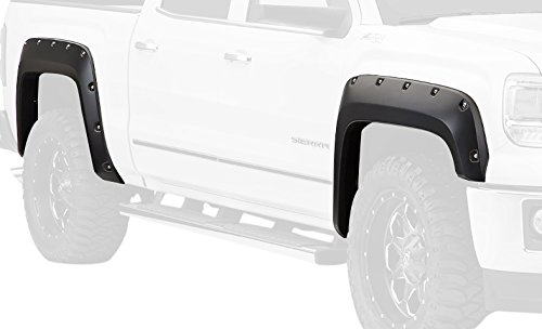 Bushwacker 40960-74 Sonoma Red Metallic Pocket Style Fender Flare for GMC, (Set of 4) (Fender Flares Gmc Sonoma compare prices)