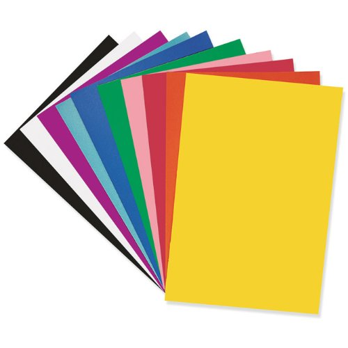 Assorted Poster Board - 50 per pack