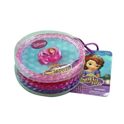 Disney Princess Sofia the First Bangle Bracelets and Heart Ring Set