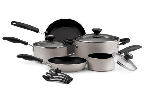 #1> SALE Farberware Superior 12 Piece Cookware Set, Silver ...