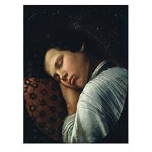 Sleeping Boy (Portrait of Avtiranov) by Nikifor Stepanovich Krilov