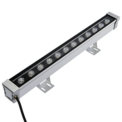 RSN LED Wall Washer 12W Linear Bar Light 3000K Warm White Color Stage Lighting Aluminum Alloy IP65 Waterproof (Indoor Led Wall Washer compare prices)