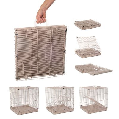 Collapsible bird carriers: Folding Travel Cage for Birds