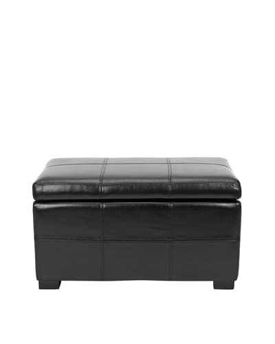 Safavieh Madison Storage Bench Small, Black