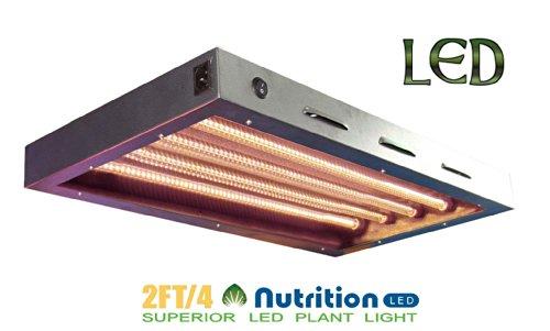 Aibc Led Bs045D1 Supert 2Ft 4Tb. T5 40W Grow Light Panel