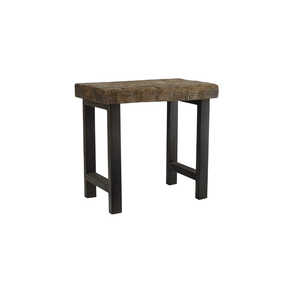 Classic Home Jaden Collection Reclaimed Wood End Table