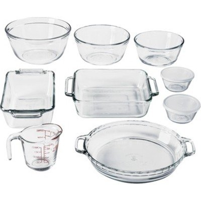 You Can Enjoy This Beautiful Elegant Glassware Storage Set That Includes 11 Pieces. Useful Bake-Ware Set For Kitchen Cooking, Outdoor Bbq, Home Dining, Or Leftover Storage. Strong Durable Glass For Long Lasting Use.