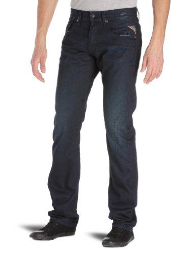 Replay Moresk Slim Men's Jeans Blue Denim W36 INXL34 IN