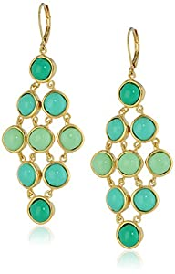 "T Tahari ""Ombre Obsession"" Ombre Chandelier Drop Earrings"