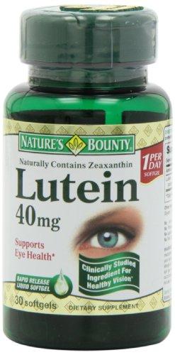 保护眼睛,自然之宝 Nature's Bounty 叶黄素 护眼胶囊40mg * 30粒图片