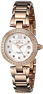 "Invicta Women's 15871SYB ""Angel"" Stainless Steel Rose Gold Watch"